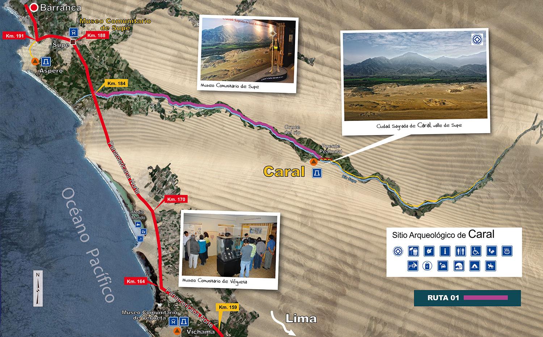 Mapa Turistico - Ruta 01